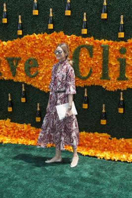 olivia palermo in Veuve Clicquot Polo Classic 2016