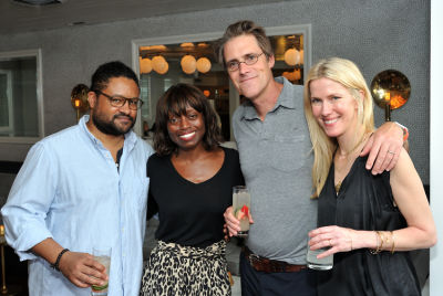 dee poku-spalding in Guest of a Guest and Cointreau's Exclusive Soiree with Mario Batali at La Sirena