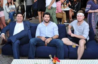 joseph russell in Guest of a Guest and Cointreau's Exclusive Soiree with Mario Batali at La Sirena