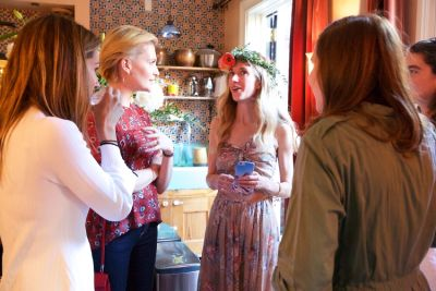 rachelle hruska-macpherson in  Guest of a Guest and Stone Fox Bride Toast Bride-to-Be Valerie Boster (Part 1)