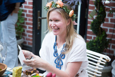 dawn goldworm in  Guest of a Guest and Stone Fox Bride Toast Bride-to-Be Valerie Boster (Part 2)