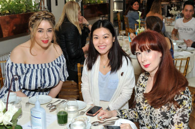 candice sabitini in Aquation Brand Launch at Bouley Botanical