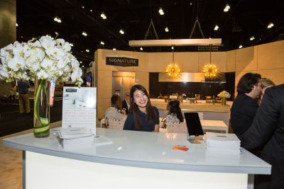 chaewon moon in Signature Kitchen Suite Launching at Dwell on Design
