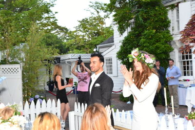 fancy alexandersson in Swedish Midsommar in the Hamptons