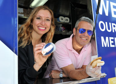 #DeltaAmexPerks Coolhaus Ice Cream Tour Kickoff with Andy Cohen