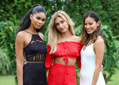 Hailey Baldwin Hosts A Hamptons Summer Splash With Revolve & Moët