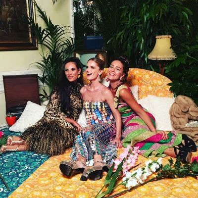 Tatiana Santo Domingo, Eugenie Niarchos, Margherita Missoni