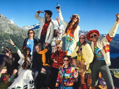 Eugenie Niarchos Celebrates Her 30th Birthday With A Fashionable #FriendshipWeekend In St. Moritz