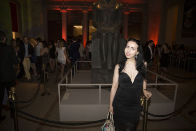 tania stavreva in The Met Young Members Party