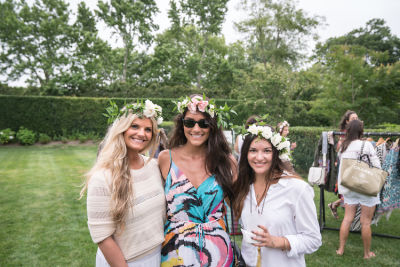 claudia kiss in B Floral, Liv Cooks, LOVESHACKFANCY, and Joey Wölffer shopping event