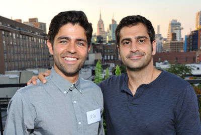 adrien grenier in Summer Sunset Dinner Benefitting Lonely Whale Foundation