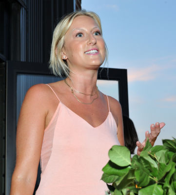emma riley in Summer Sunset Dinner Benefitting Lonely Whale Foundation