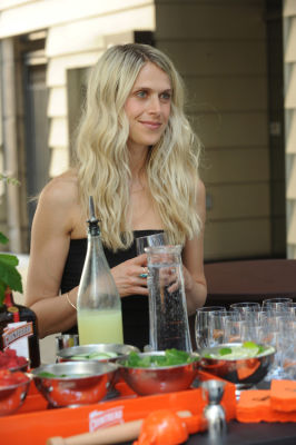 molly guy in Molly Guy's Chicago Soiree in Bloom Curated With Cointreau and Guest of a Guest