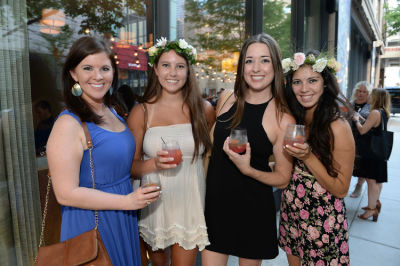 leah durham in Molly Guy's Chicago Soiree in Bloom Curated With Cointreau and Guest of a Guest