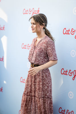 rachel bilson in Target's Cat & Jack Brand Launch