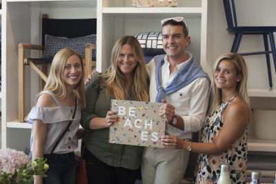 NYT Best Selling Author, Gray Malin celebrate his recently released book BEACHES