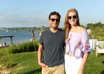 jon oringer in Guest Of A Guest & Oliver Peoples Host A Paella Party In Montauk