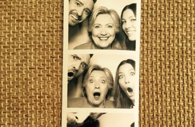 Justin Timberlake, Jessica Biel & Hillary Clinton Are The Ultimate Threesome