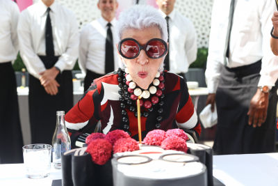 Iris Apfel Unveils An Affordable New Clothing Line & Celebrates Her 95th Birthday