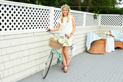 christy doramus in #‎BLOOMINGENBLANC‬ Summer Soireé