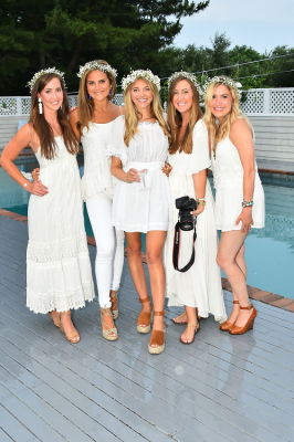 meg niemann in #‎BLOOMINGENBLANC‬ Summer Soireé