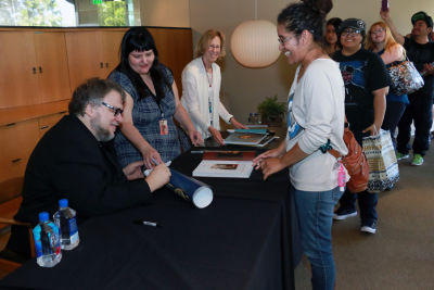 Guillermo del Toro Book Signing at LACMA