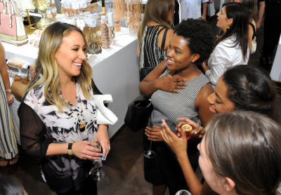 hailey duff in Stylewatch X Charming Charlie Collection Launch In NYC