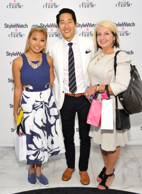 melissa cummings in Stylewatch X Charming Charlie Collection Launch
