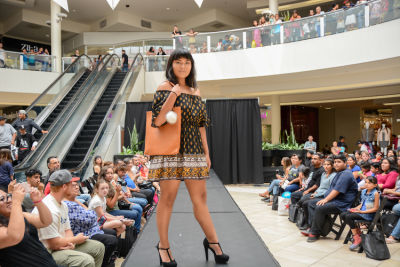 isabel rodriguez in Inside The Back To School Fashion Show At The Shops at Montebello