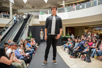 jason arevalo in Back to School Fashion Show at The Shops at Montebello