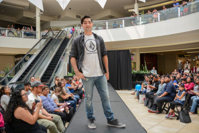 chad bradbury in Inside The Back To School Fashion Show At The Shops at Montebello