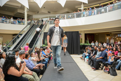 chad bradbury in Back to School Fashion Show at The Shops at Montebello