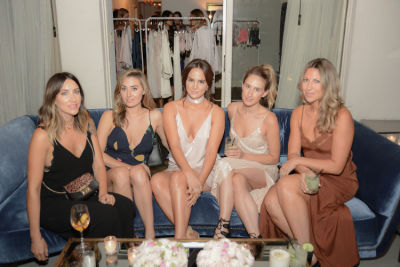 nikki deroest in Journelle Hosts An Elegant Evening At The Chateau Marmont