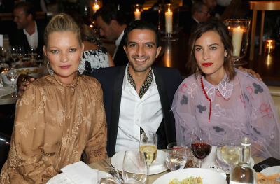 Kate Moss & Alexa Chung Celebrate The #BoF500 At The London EDITION