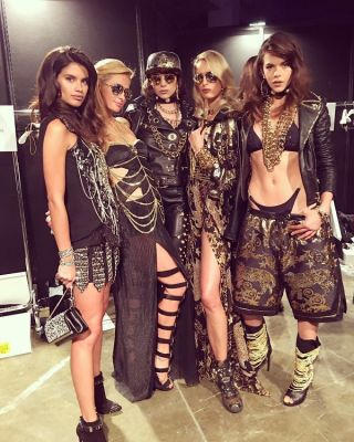 Sara Sampaio, Paris Hilton, Karolina Kurkova, Georgia Fowler