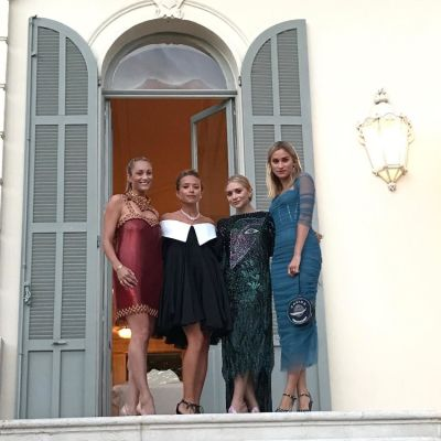Marcella Guarino, Mary-Kate Olsen, Ashley Olsen, Alessandra Brawn