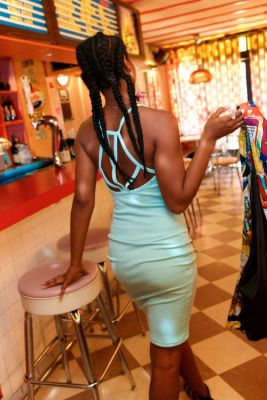 megan gerald in The Hottest Waitresses In NYC All Work At One Place