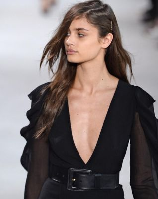 taylor hill in The Freshest Front Row Faces Of Fashion Week