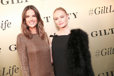 Kate Bosworth & Alessandra Ambrosio Toast To The #GiltLife Townhouse In NYC