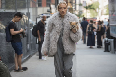 gaia matisse in Fashion Week Street Style: Day 1