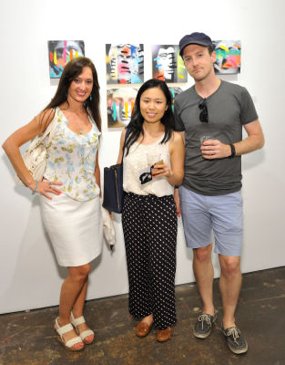 ryan edwards in Not The Sum Of Its Parts exhibition opening at Joseph Gross Gallery