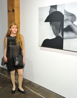 alley ninestein in Not The Sum Of Its Parts exhibition opening at Joseph Gross Gallery