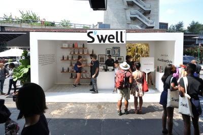 Art & Style Combine At The S'well NYFW Pop Up