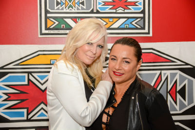 jo hilton in Belvedere Celebrates (RED) and Partnership with South African Artist, Esther Mahlangu at Ace Gallery in Los Angeles [Cocktail Reception]