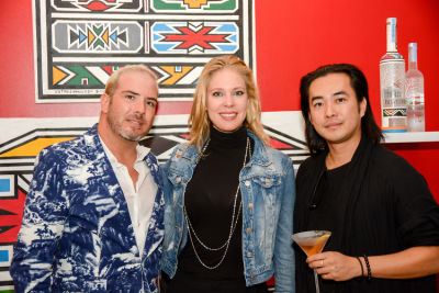 desiree gallas in Belvedere Celebrates (RED) & South African Artist Esther Mahlangu
