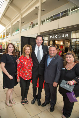 art barajas in H&M Store Opening at The Shops at Montebello