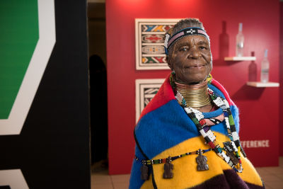 Belvedere Celebrates (RED) With South African Artist, Esther Mahlangu In Chicago
