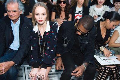 Lily-Rose Depp, Usher