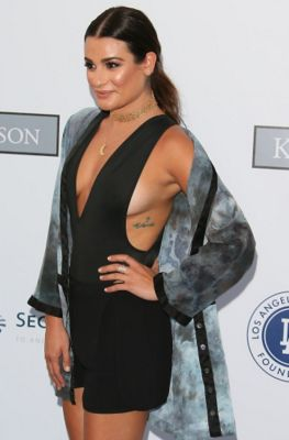 lea michele in 57 #NoBra Moments From Our Favorite Celebrities