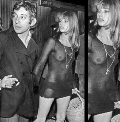 jane birkin in 57 #NoBra Moments From Our Favorite Celebrities